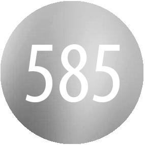 Kamienie: Biale zloto 585