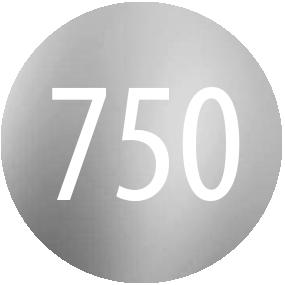 Kamienie: Biale zloto 750