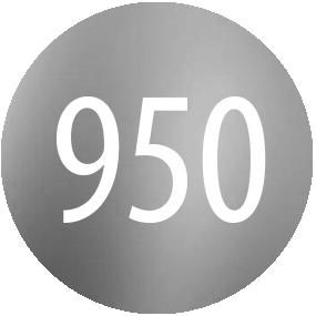 Kamienie: Platyna 950